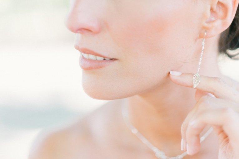 Boucles d'oreilles mariée Lola - L'Atelier de Sylvie