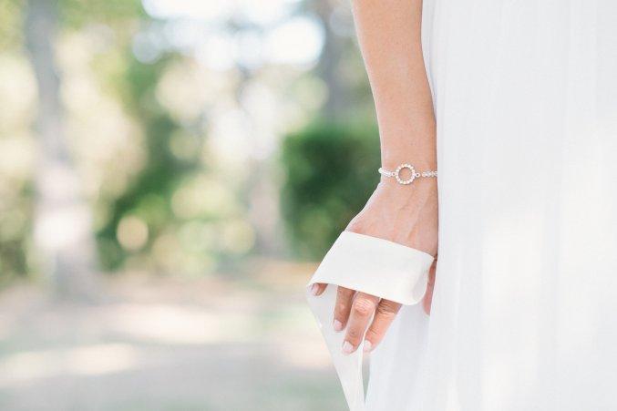Bracelet mariée GIULIA - L'Atelier de Sylvie