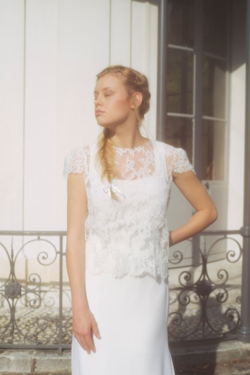 JUPE SOLENE TOP REZA - Organse Paris - Collection 2016 robes de mariée sur-mesure
