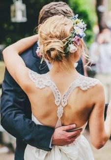 chignon mariage bas © The Robertsons