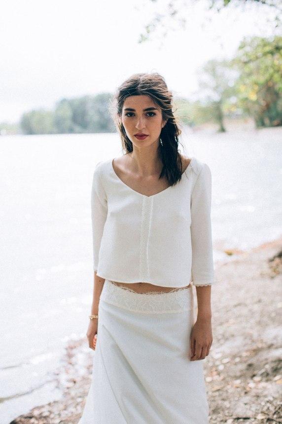 Aurélia Hoang Collection 2016 - Robe de mariée 2016 Gershwin-Georgina ©Ingrid Lepan