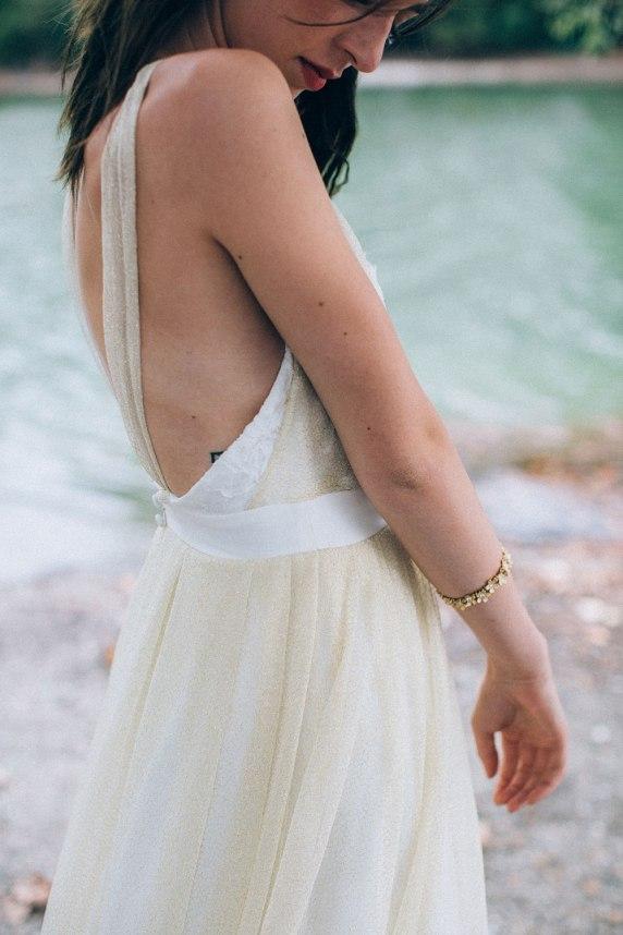 Aurélia Hoang Collection 2016 - Robe de mariée 2016 Getz ©Ingrid Lepan