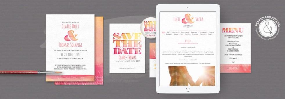 Concours - Gagne ton blog de mariage personnalisé - Petit Mariage Entre Amis X Pepper & Joy | La Mariée Sous Les Etoiles
