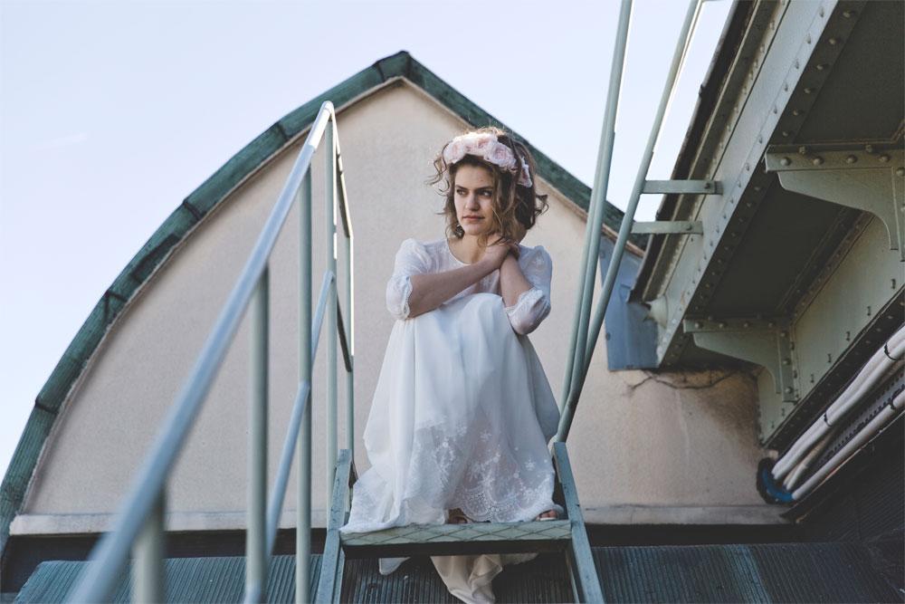 Frida, la robe de mariée signée Elise Hameau exclusivité du Printemps | Photo Céline Marks | Maria Luisa Mariage Printemps_7
