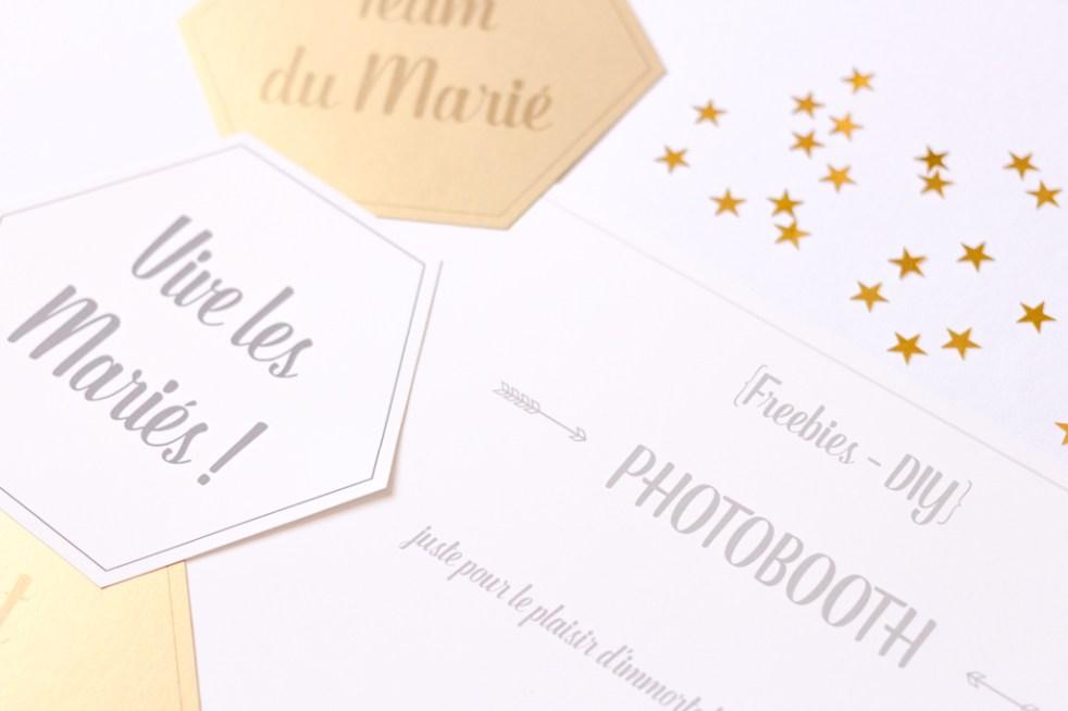 DIY Printable – Accessoires de photobooth à imprimer - Blog mariage & DIY - La Mariee Sous Les Etoiles