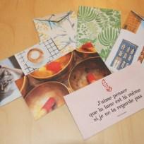 carte et enveloppe faite main n°1