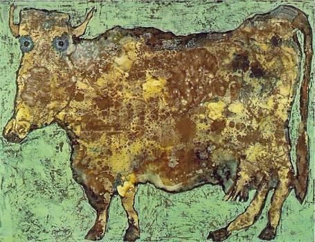 Vache au nez subtil Jean Dubuffet