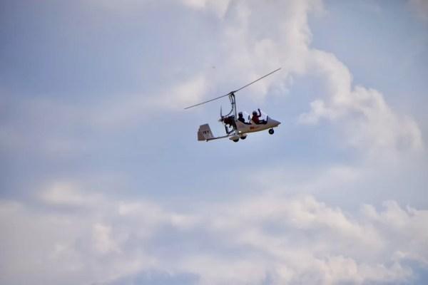 Autogire Val de Loire- LamaugerieULM-autogire- Baptême de l'air