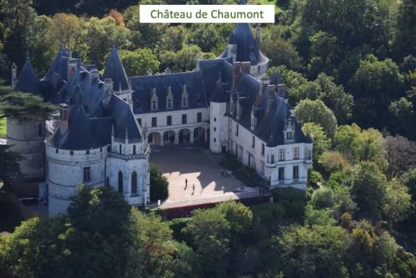 LaMaugerieULM-Autogire - Château de chaumont