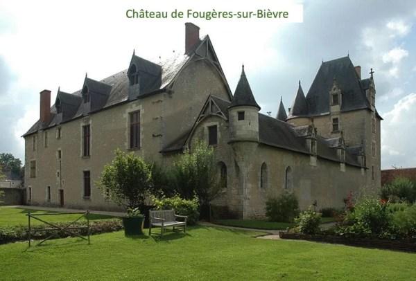 LaMaugerieULM-Autogire - Château de fougères sur Bièvre