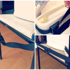 Booster Seat Straps To Chair Pride Lift Repair Parts Oxo Tot Perch Review Lamb And Bear