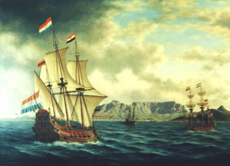 Dutch-East-Indiamen-in-Tabl