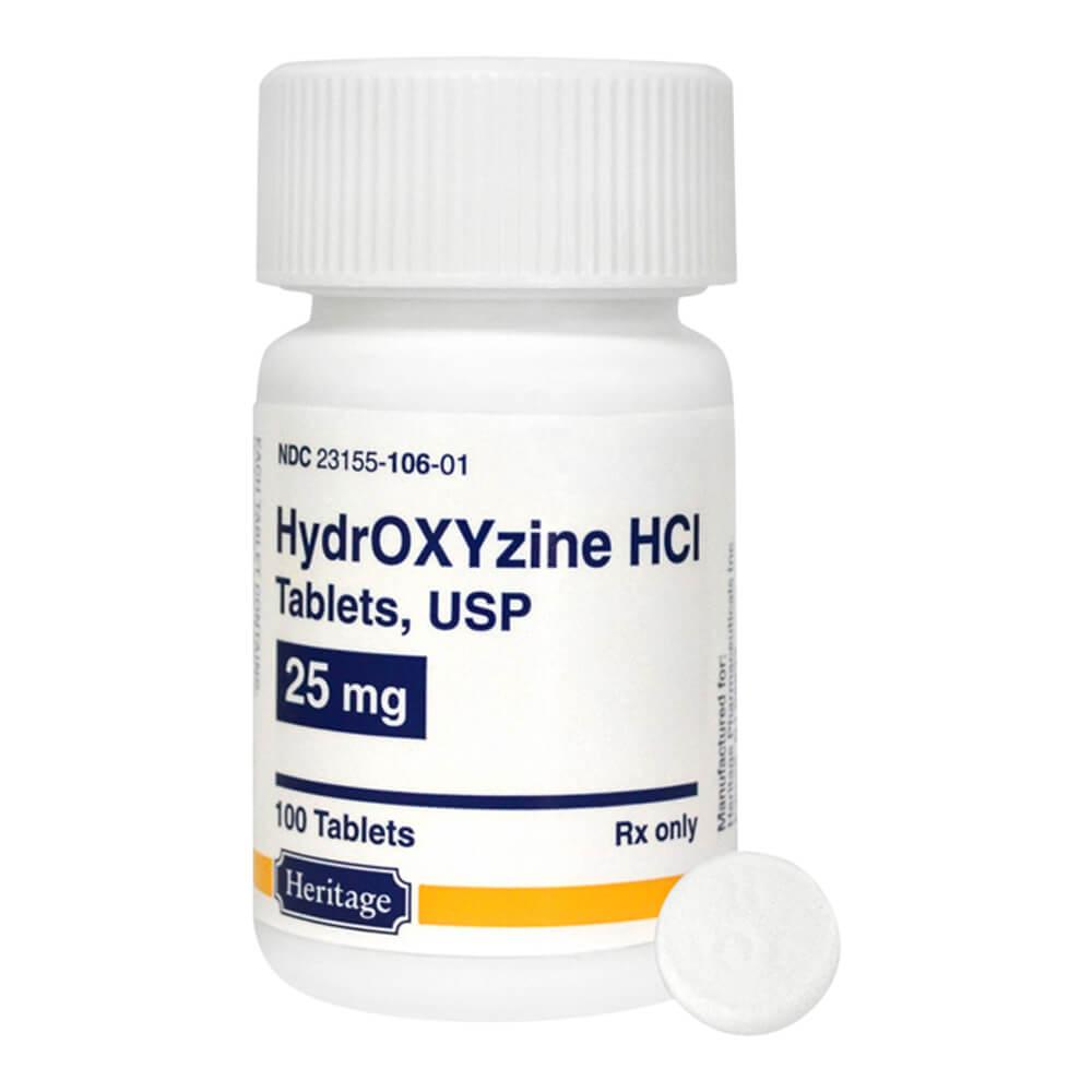 Hydroxyzine Dosage Anxiety : Hydroxyzine (Vistaril. Atarax) For Anxiety Disorders 