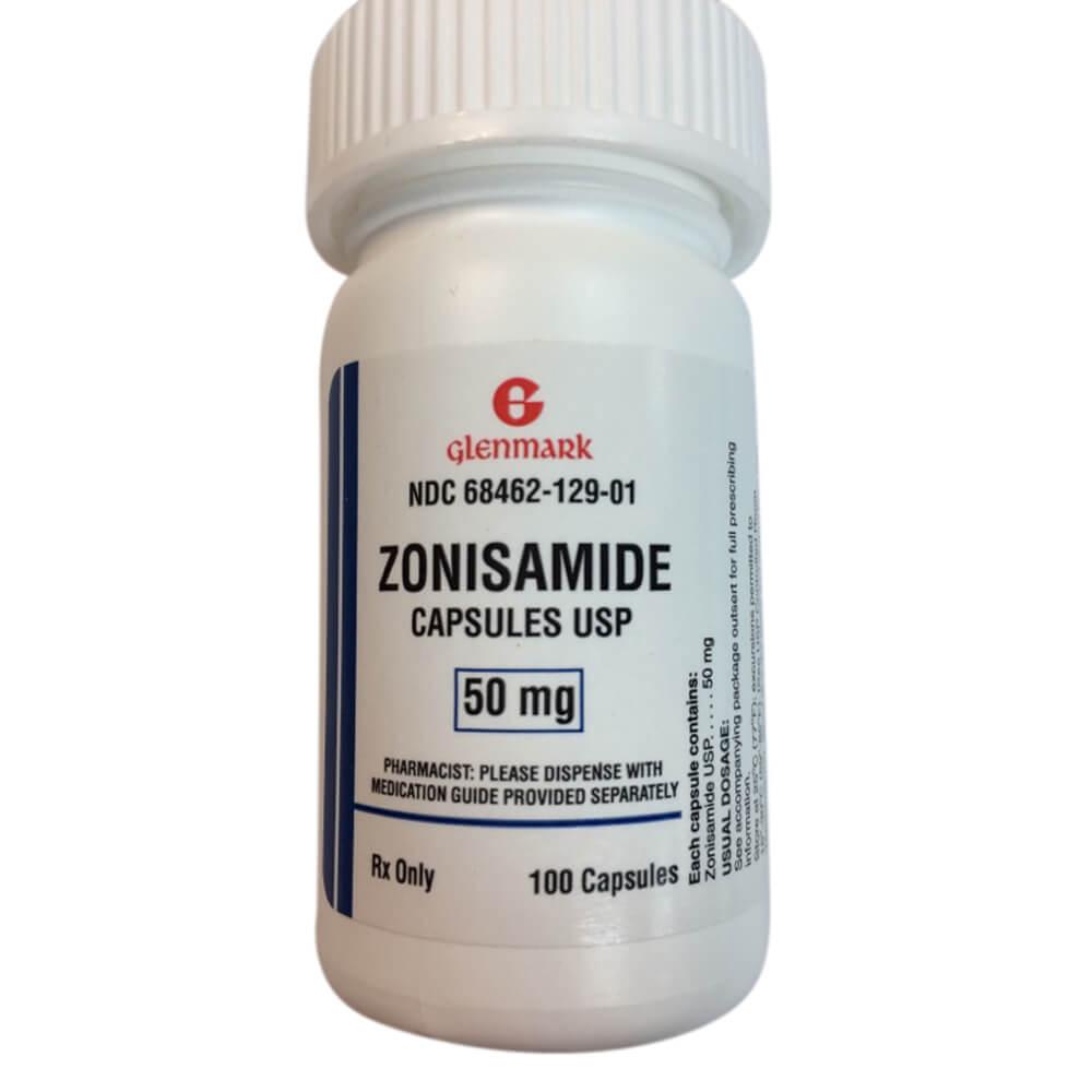 Rx Zonisamide 50 mg Single Capsule
