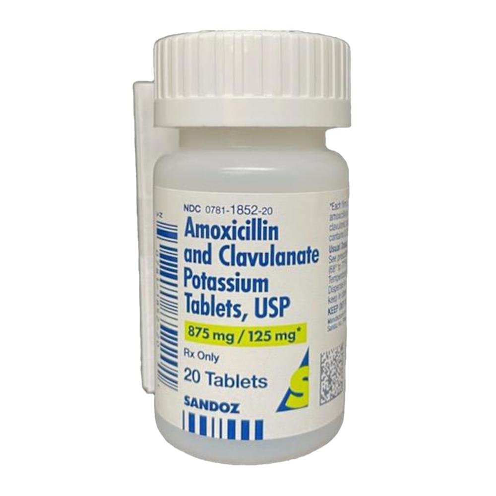 Rx Amoxicillin & Clavulanate Potassium Tablets 875mg ...