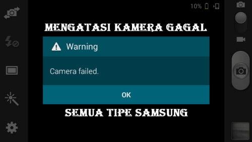 cara mengatasi android kamera gagal pada Samsung