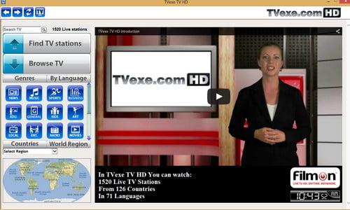 Aplikasi Tvexen Untuk Nonton TV