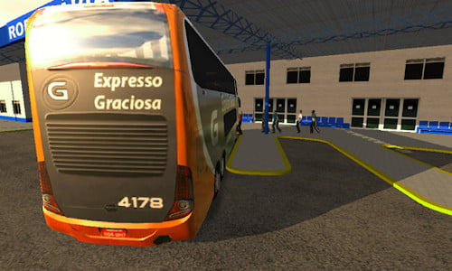 Game Bus Simulator Grafik Terbaik Android