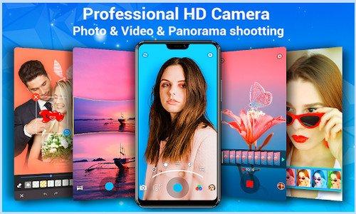 Kamera HD - Video, Panorama, Filter, Editor Foto