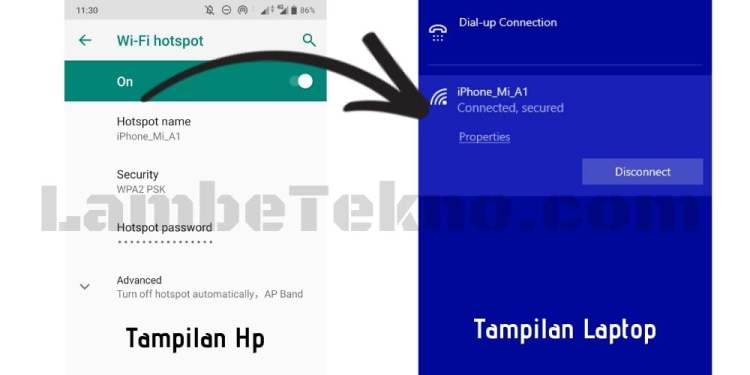 Memindahkan Data Hp ke Laptop Lewat WiFi