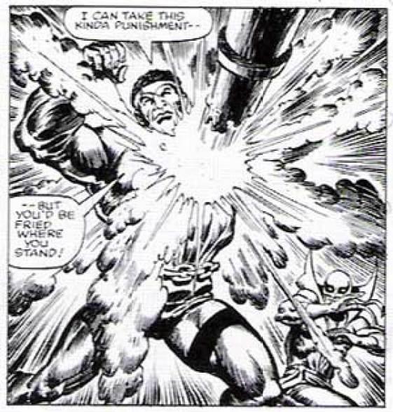 Powerman, art by by Ernie Chan