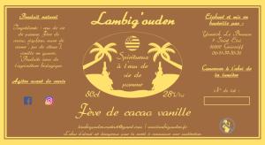 Lambig arrangé cacao vanille