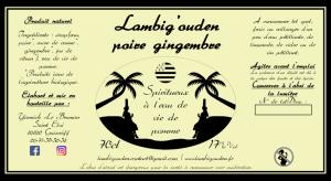 Lambig'ouden poire gingembre