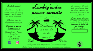 Lambig'ouden pomme cannelle