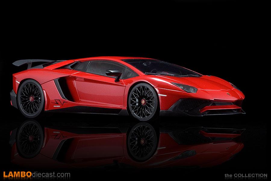 The 118 Lamborghini Aventador LP750 4 Superveloce From