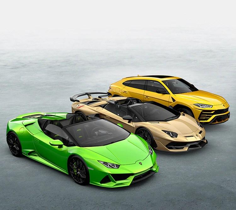 Automobili Lamborghini Official Website Lamborghinicom