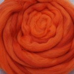 100% Merino Fiber- Indian Paintbrush