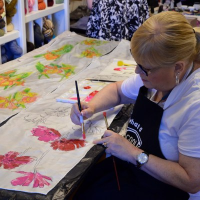 ONE DAY Painting with Dyes class: Aug. 2nd