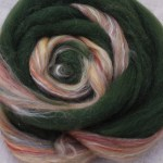 Merino Silk Fiber- Ponderosa Pine