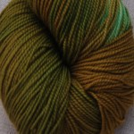 Superwash Sock Yarn- Rockside Moss