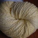 100% Hand-Dyed Organic Cotton - Maize