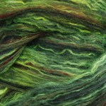 Merino/Silk Fiber- Green Lady Fern
