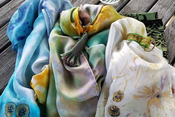 Silk Painting Summer Classes
