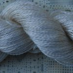 Hand-Dyed 100% Silk  - Andalusian Stallion