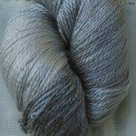 Hand-Dyed 100% Silk -- Dusty Miller