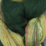 Merino/Silk Fiber - Willow Leaf