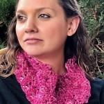 Daybreak Crochet Cowl