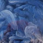 Hand-dyed Silk Fiber - The Windigo
