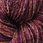 Hand-dyed 100% Silk Bouclé & Merino Extrafine - Red Rocks
