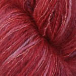 Super Kid Mohair/Silk Yarn  - Winter Berry Snow
