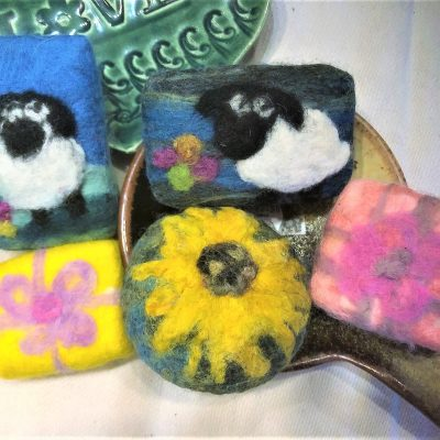 Adorable Felted Soaps that you can create!