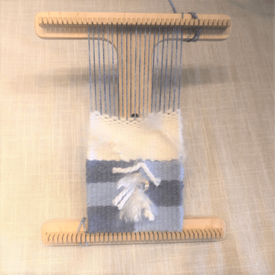 Kids' Tapestry Loom Weaving: Aug. 3rd