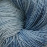 Superwash Sock Yarn - Blue Hydrangea