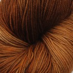Superwash Sock Yarn - Brown Chrysanthemum