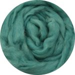 Hand-dyed Merino/Silk Fiber - Colorado Blue Spruce
