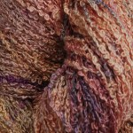 Hand-dyed 100% Silk Bouclé - Pink Hydrangea